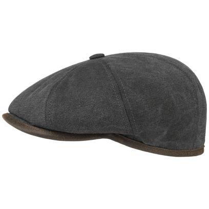 Stetson Hatteras Seward Canvas Schirmmütze Schiebermütze Flatcap - Bild 1