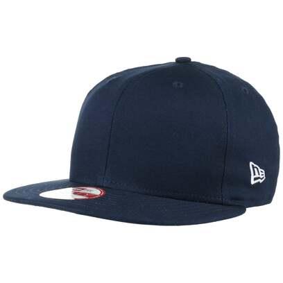 New Era Cotton Snapback Cap Flat Brim Basecap Baumwollcap Baseballcap Kappe
