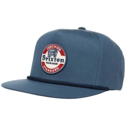 Brixton Soto High Profile Snapback Cap Flatbrim Basecap Kappe Baseballcap Brixton - Bild 1