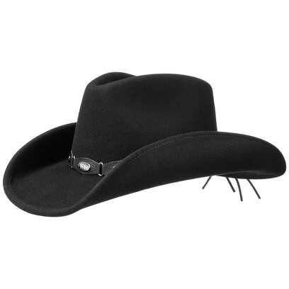 Western Concho Cowboyfilzhut Hut Filzhut Westernhut Herrenhut