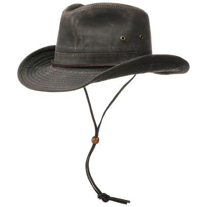 Diaz Outback Travellerhut mit UV-Schutz Sonnenschutz Baumwollhut Sonnenhut Stoffhut - Bild 1