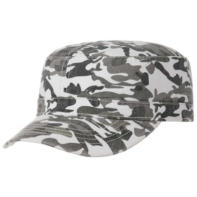 Army Camouflage Washed Cap Armycap Armykappe Military Kappe Baumwollcap - Bild 1