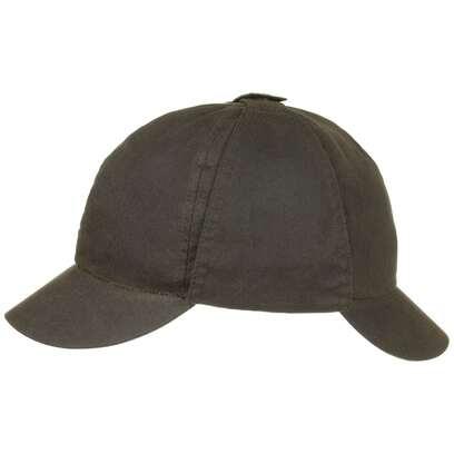 Detective Bede Waxed Cap Baumwollcap gewachste Outdoorcap Deerstalker Kappe Barbour - Bild 1