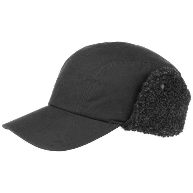 Tyne Trapper Waxed Cap Outdoorcap mit Ohrenklappen gewachste BaumwollcapBarbour