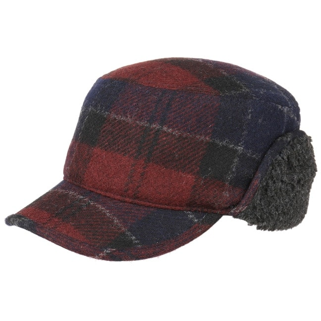 Stanhope Wool Trapper Cap Kappe mit Ohrenklappen Wollcap Barbour