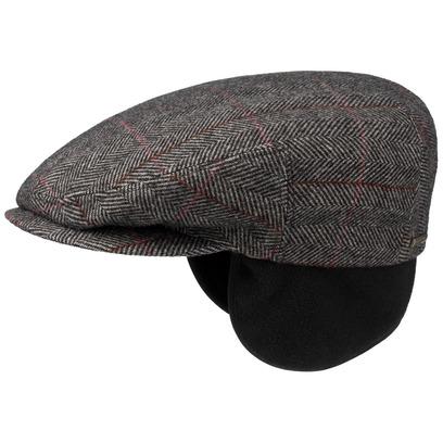Stetson Kent Wool Flatcap mit Ohrenklappen Schirmmütze Wollcap Schiebermütze - Bild 1