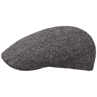 Stetson Michi Harris Tweed Flatcap Schirmmütze Schiebermütze Sportmütze Wollcap - Bild 1