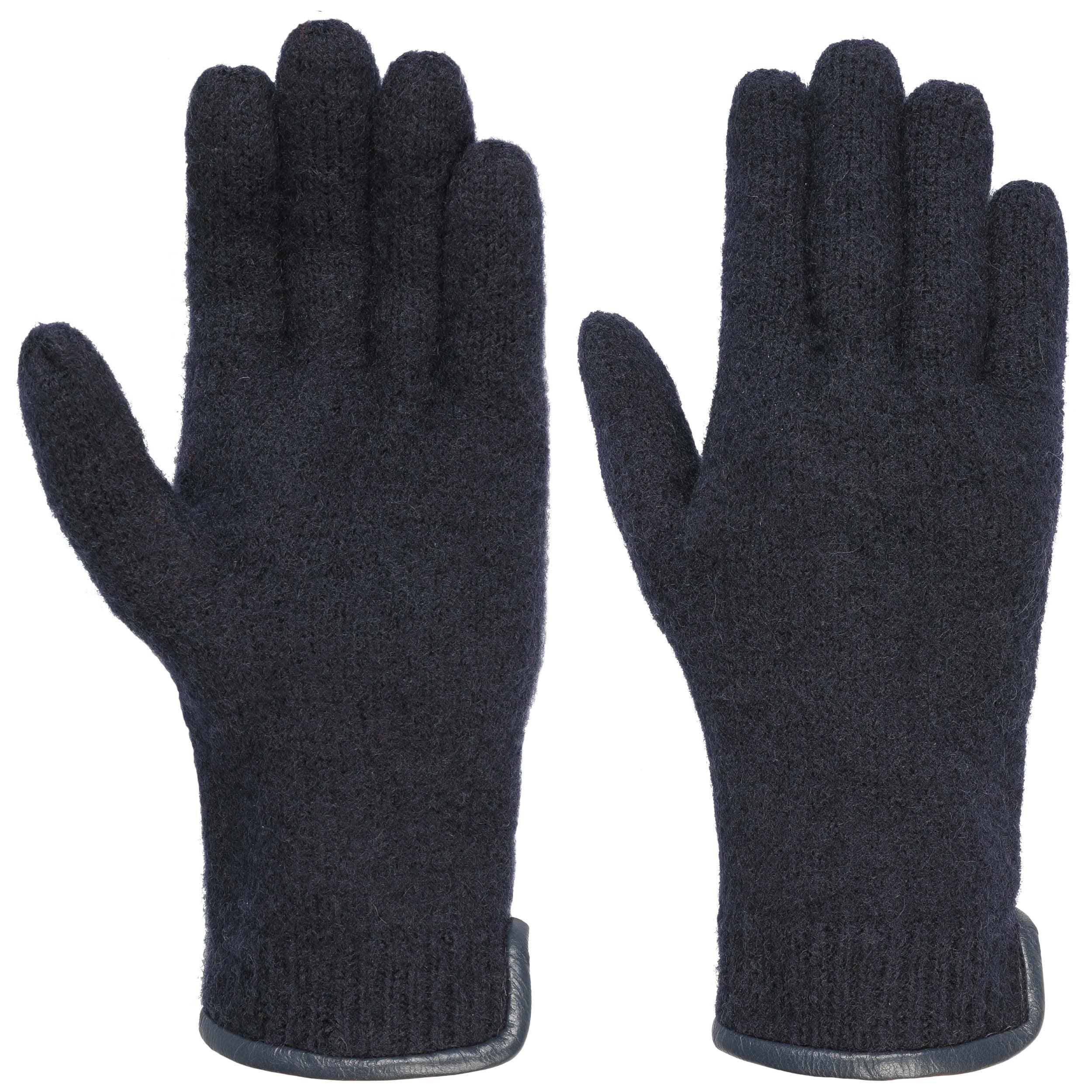 Artikel klicken und genauer betrachten! - Filzweiche Behaglichkeit. 100% Woolmark®-Schurwolle bringt eine enorme Portion Wärme in die hochwertigen Walkhandschuhe und macht sie bis zu den Fingerspitzen spürbar gemütlich. Der Paspelrand aus geschmeidigem Leder am Handgelenk sowie der seitliche Zierknopf verleihen den melierten Wollhandschuhen einen eleganten Feinschliff. Aus 100% Schurwolle.   im Online Shop kaufen