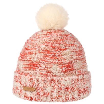 Barts Siret Beanie Bommelmütze Wintermütze Pudelmütze Umschlagmütze Mütze Damenmütze - Bild 1