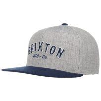Brixton Harold Twotone Snapback Cap Flat Brim Flatbrim Basecap Baseballcap Kappe Brixton - Bild 1