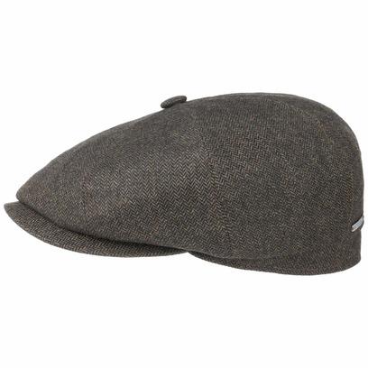 Stetson Hatteras Cashmere Yarn Flatcap Schirmmütze Kaschmirmütze Schiebermütze Ballonmütze Mütze Cap - Bild 1