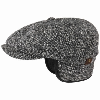 Stetson Hatteras Donegal Earflaps Cap Ohrschutz Schirmmütze Schiebermütze Ohrenschutz Mütze Cap - Bild 1