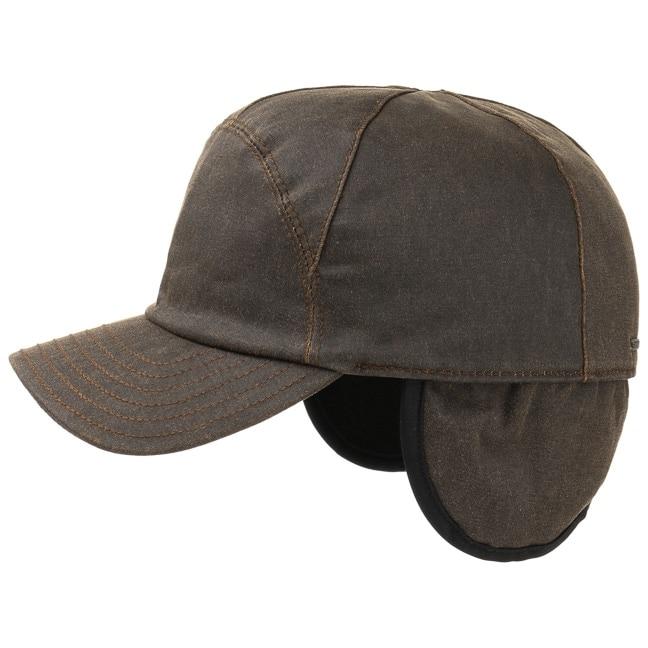 Maryman Earflaps Baseballcap Cap mit Ohrenklappen Basecap Baumwollcap Vintage Kappe Stetson