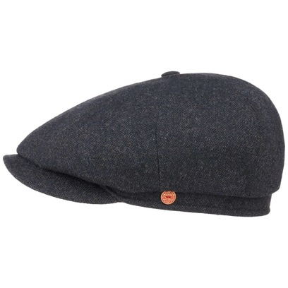 Mayser Seven Casual Tweed Flatcap Schirmmütze Newsboy Cap Wintermütze - Bild 1
