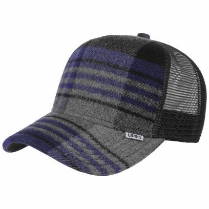 Djinns Check Felt HFT Trucker Cap Meshcap Mesh Truckercap Basecap Baseballcap Kappe - Bild 1
