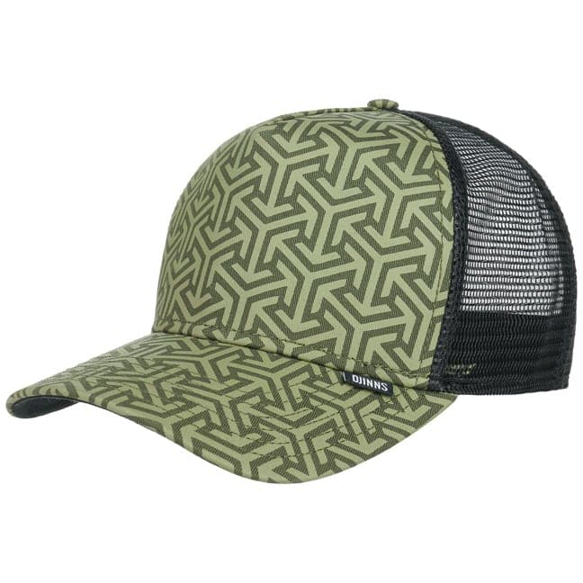 Djinns HFT Geometric Snapback Cap High Fitted B...