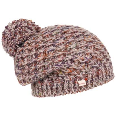 bedacht Multicolour Bommelmütze Strickmütze Mütze Pudelmütze Wollmütze Wintermütze