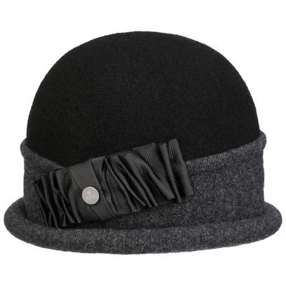 bedacht Oretka Toque Walkmütze Wollmütze Mütze Damenmütze Walkhut