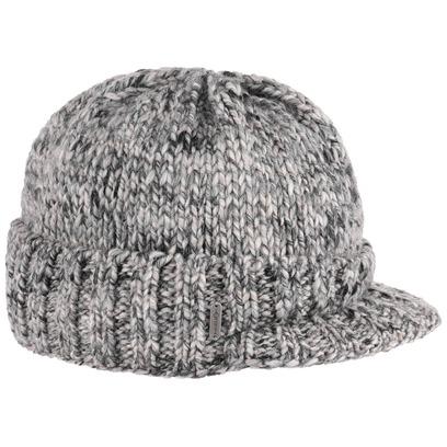 McBURN Grinta Visorbeanie mit Fleece Strickmütze mit Visor Beanie Mütze Wintermütze - Bild 1
