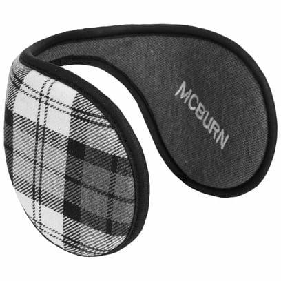 McBURN Karo Earband Ohrenwärmer Ohrenschützer Ohrwärmer Ohrschützer - Bild 1