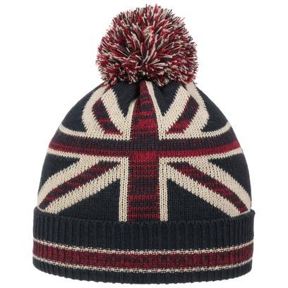 McBURN Great Britain Pudelmütze Bommelmütze Strickmütze Wintermütze Mütze - Bild 1
