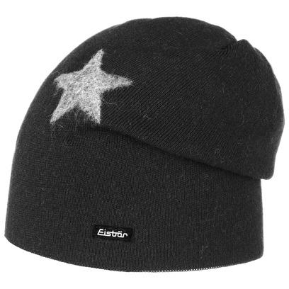 Eisbär Stars Oversize Beanie Merinomütze Strickmütze Wollmütze Wintermütze Slouch Beaniemütze Mütze - Bild 1