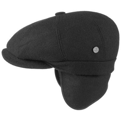 Lierys City Teflon Flatcap Ohrenklappen Schirmmütze Ohrenschutz Wollmütze Regenmütze Schiebermütze - Bild 1