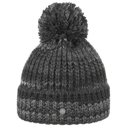 Lierys Finja Bommelmütze Damenmütze Mütze Wintermütze Wollmütze Pudelmütze Strickmütze - Bild 1