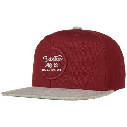 Brixton Wheeler Uni Snapback Cap Flatbrim Flat Brim Basecap Baseballcap Kappe Brixton - Bild 1