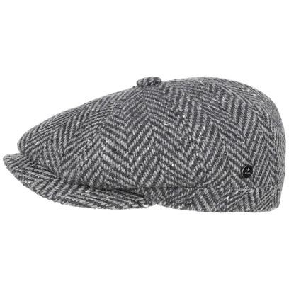 Lierys City Herringbone Flatcap Schirmmütze Schiebermütze Cap Kappe Mütze Wollcap - Bild 1