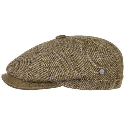 Lierys City Harris Tweed Flatcap Schirmmütze Wollcap Schiebermütze Cap Kappe Mütze - Bild 1
