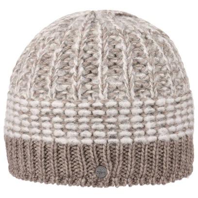 Lierys Mohair Twotone Strickmütze Beanie Wintermütze Damenmütze Herrenmütze Skimütze Mütze - Bild 1