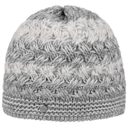 Lierys Mohair Stripes Strickmütze Wintermütze Wollmütze Beanie Damenmütze Skimütze by - Bild 1