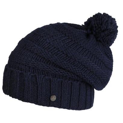 Lierys Jil Oversize Bommelmütze Beanie mit Bommel Strickmütze Wintermütze Wollmütze Damenmütze - Bild 1