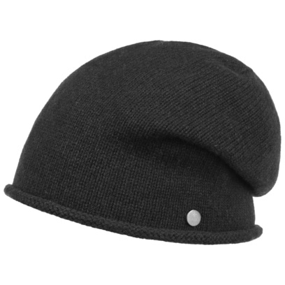 Lierys Merino Kaschmir Beanie Oversize-Mütze Mütze Wollmütze Wintermütze Damenmütze Herrenmütze - Bild 1