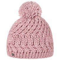 Lierys Jil Beanie Bommelmütze Damenmütze Wollmütze Wintermütze Strickmütze Pudelmütze Mütze - Bild 1