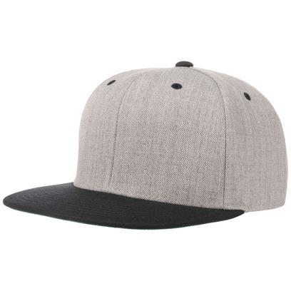 Classic Twotone Cap Snapback Flatbrim Flat Brim Basecap Baseballcap Kappe - Bild 1