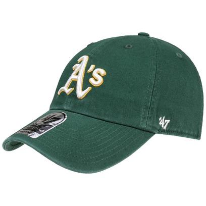 47 Brand Clean Up Oakland A´s Cap Strapback Basecap Baseballcap Athletics MLB Kappe - Bild 1