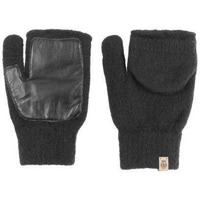 Roeckl Walk Damen Kapuzenhandschuhe Fingerlose Handschuhe Wollhandschuhe mit Leder - Bild 1