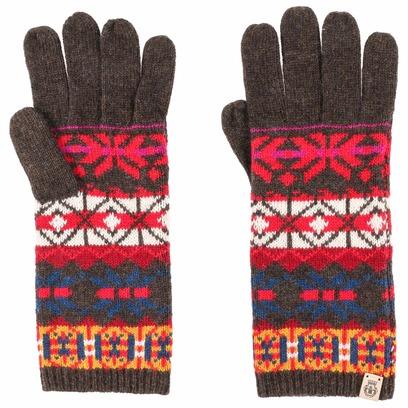 Roeckl Jacquard Strickhandschuhe Handschuhe Fingerhandschuhe Damenhandschuhe