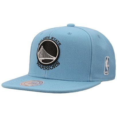 Mitchell & Ness Golden State Cap Flatbrim Flat Brim Snapback Basecap Baseballcap Kappe