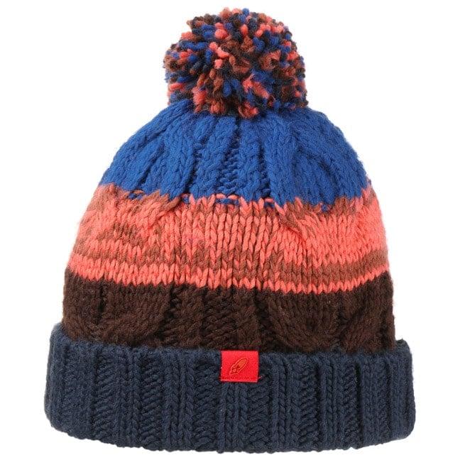 Hutshopping Chunky Stripes Bommelmütze Mütze Wintermütze Strickmütze Beanie Damenmütze Herrenmütze Sale Angebote Lindenau