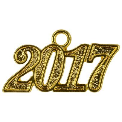 Anhänger 2017 zum Dr. Hut Flexible Jahreszahl passend zum Doktorhut - Bild 1