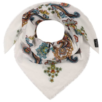 Fraas Paisley Baumwolltuch Damentuch Tuch Schal Damenschal Baumwollschal - Bild 1