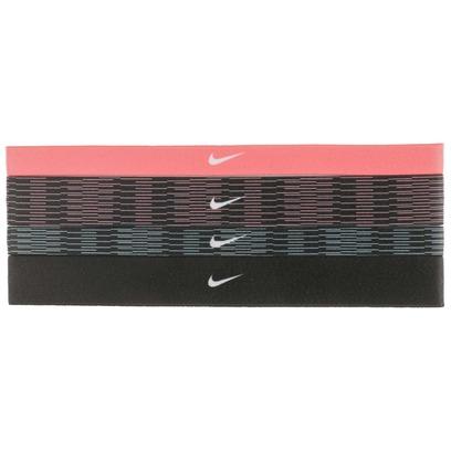 Nike Assorted 4PK Printed Headbands Stirnbänder Stirnband Headband 4er-Pack - Bild 1