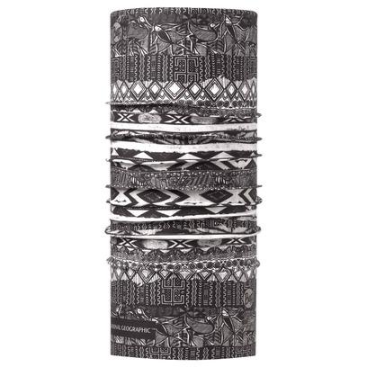 Multifunktionstuch Thabo Grey Mufutu Multifunktionsbandana Bandana Stirnband Halstuch Buff - Bild 1