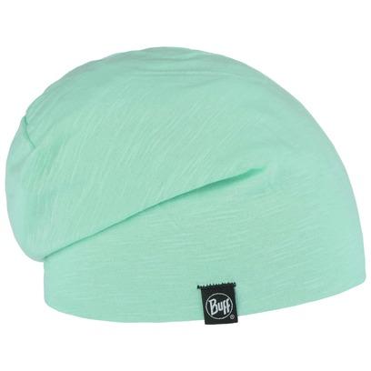 BUFF Solid Beanie Baumwollmütze Mütze Bio-Baumwolle Stoffmütze Sommermütze Indoormütze - Bild 1