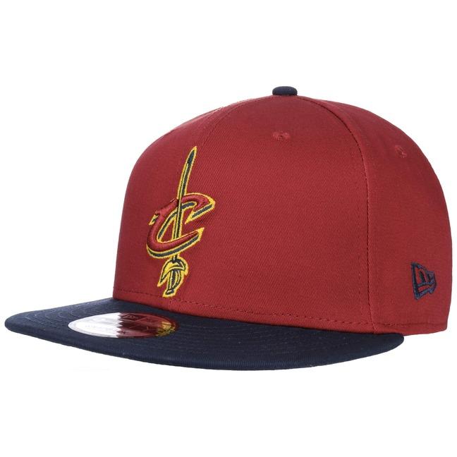 New Era 9Fifty TC Cleveland Cavs Cap Snapback Flatbrim Flat Brim Basecap Baseballcap Kappe NBA