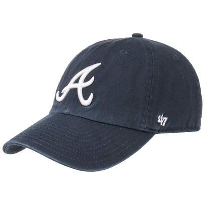 47 Brand Clean Up Braves Cap Strapback Basecap Baseballcap Kappe Baumwollcap MLB - Bild 1