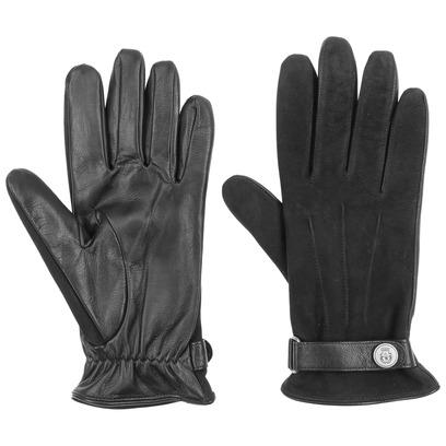 Roeckl Nubukleder Herrenhandschuhe Handschuh Handschuhe Fingerhandschuhe Lederhandschuhe - Bild 1